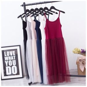 Dresses & Skirts - Perfect For Layering Tulle Dress